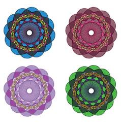 Circular Ornaments2 vector image vector image