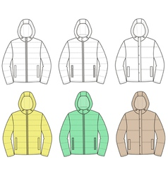 Jackets vector image
