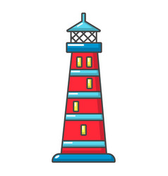night light icon cartoon style vector image