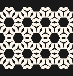 seamless pattern abstract geometric ornament vector image