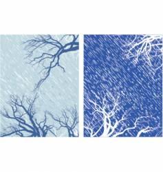 winter mood vector image