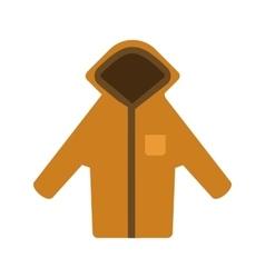 Warm hoodie vector