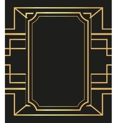Flat about gatsby background design vector