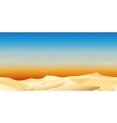 Desert Pattern vector image vector image