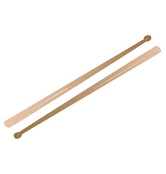Drum sticks vector