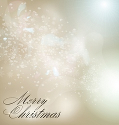 grey christmas background vector image vector image
