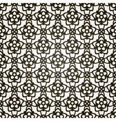seamless floral background Lace pattern vector image vector image