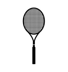 tennis racket isolated icon vector image