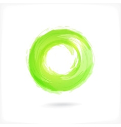 Business abstract circle icon corporate media vector