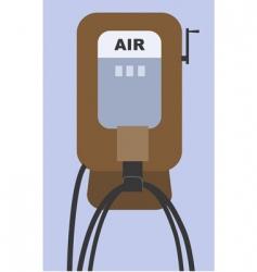 air pump vector image