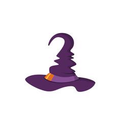 halloween hat icon vector image vector image