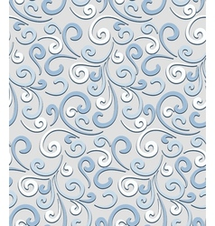 Seamless pale pattern vector image