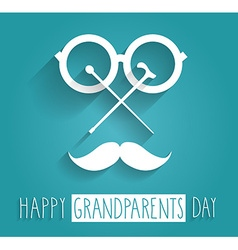 Grandparents icon vector