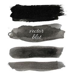 Big Black Blot Collection vector image