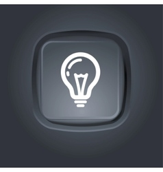 light bulb pictogram vector image