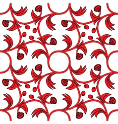 medieval pattern vector image