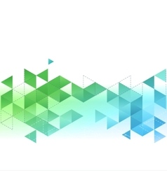 Abstract template background with triangle vector