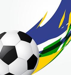 Abstract football game vector
