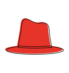 hat icon image vector image vector image