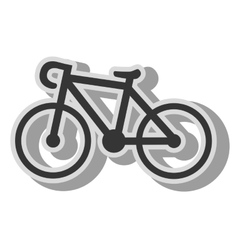 Bike transport vehicle icon vector
