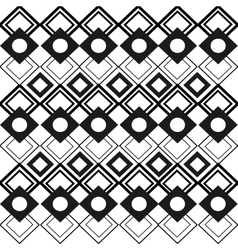 Tribal geometric pattern icon vector
