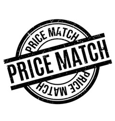 Price match rubber stamp vector