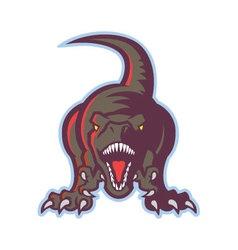 Dinosaur icon vector image