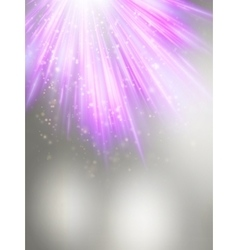 Abstract magic violet light background eps 10 vector