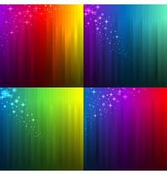 background gradient set vector image vector image