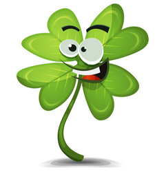 Four leaf clover character vector