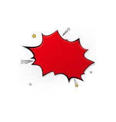 pop art splash background explosion in comics vector image