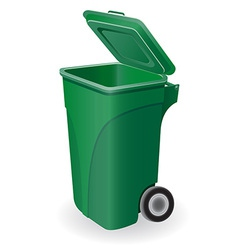 Trash can 05 vector