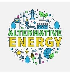 Alternative energy round vector