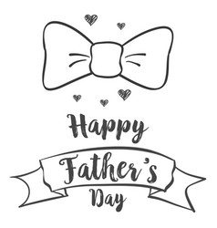 Happy father day background design vector