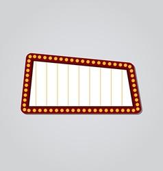 Retro neon sign vector