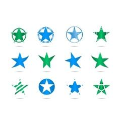 star logos vector image