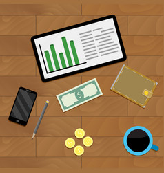 Accounting budget finance vector