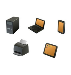 Devices vector image