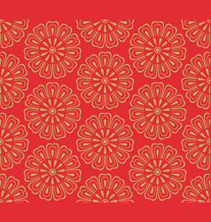 asain pattern vector image vector image