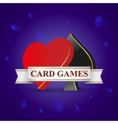 card games vector image vector image