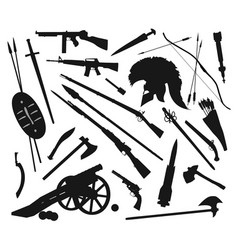 weapons mix vector image