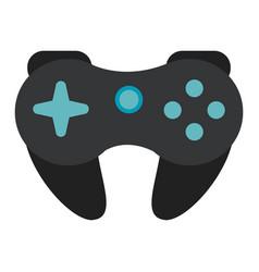 Gamepad control console concept vector