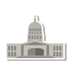 Government building of america vector