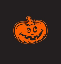 Halloween pumpkin icon logo esign element vector