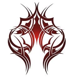 Maori tribal tattoo vector