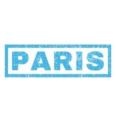 Paris Rubber Stamp vector image
