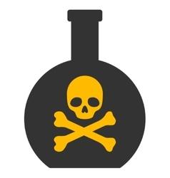 Poison flat icon vector