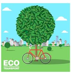 ecotransport vector image