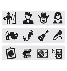 creative professions vector image