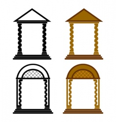 four arches vector image